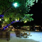 Samed Cabana Resort Beach Restaurant Lights