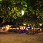 Samed Cabana Resort Beach Restaurant in Evening